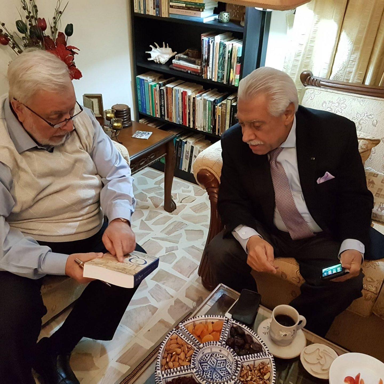 Meeting With Mr.Akl Baltaji Jordan